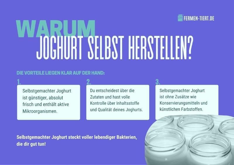 Joghurt herstellen
